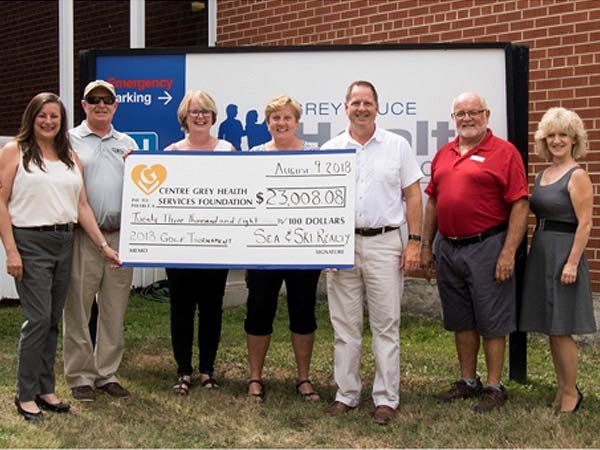 Golf tournament raises over $23,000 for Centre Grey Hospital Foundation fundraiser