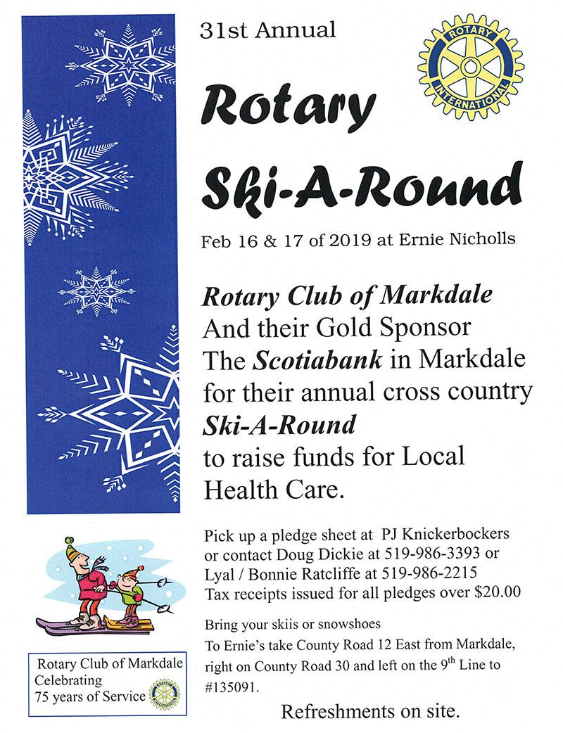 Rotary Ski-a-Round 2019